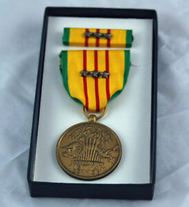 Vietnam-Service-Medal-3-Campaign-Stars-Dated-1969