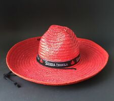 Sierra Tequila sombrero sombrero canotier méxico decorativas bar nuevo verano fiesta grillos