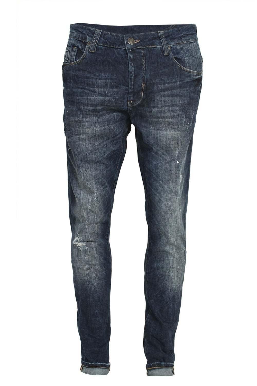 Mens Jeans 883 POLICE Laker 302 Slim Fit Faded Wash Denims