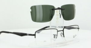 b2654c0a19038 Custom Fit Polarized CLIP-ON Sunglasses For RAY-BAN RB6285-53X18 ...