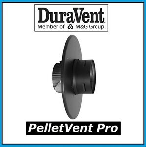 "DURAVENT PELLETVENT PRO 4/"" Flex Trim Collar #4PVP-FTC NEW FREE USA SHIPPING"