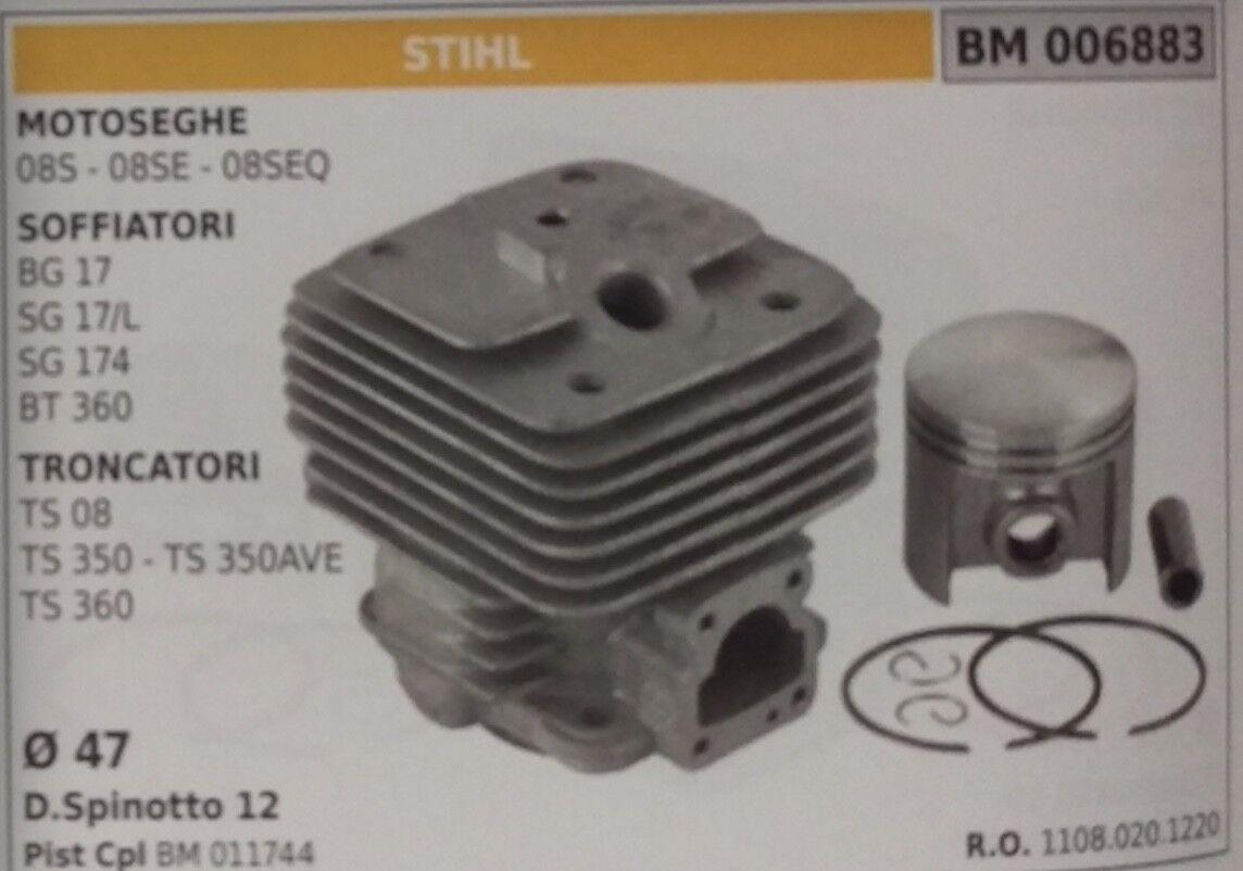 11080201120 Zylinder und Kolben Trennwerkzeug Stihl TS TS TS 08 350 350AVE 360 Ø 47 mm 019600