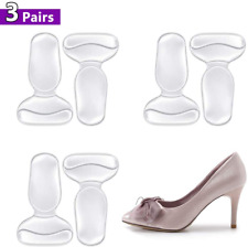 Foconee High Heel Cushion Silicone Shoe Pads For Too Big Shoes Anti Heel Grips