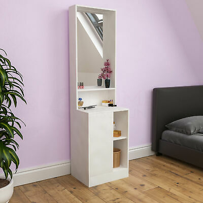 new products a808f 8840d Sophia Dressing Table Mirror Bedroom Makeup Vanity Standing Storage Desk  White | eBay