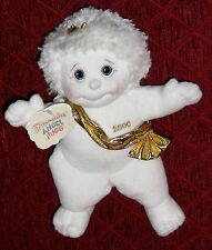 "Plush White 9"" Wide Eye 2000 Dreamsicle Angel Hugs Doll"