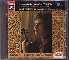 Itzhak PERLMAN: WIENIAWSKI Violin Concerto 1 2 SEIJI OZAWA EMI CD 1985