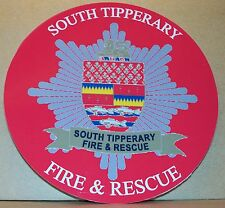 Irish Fire and Rescue Service South Tipperary vinyl sticker personalised..