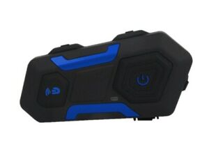 New R10FM Group Rider Bluetooth Motorcycle Helmet Intercom Headset HIFI Speakers