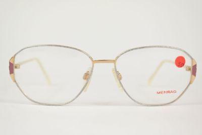 Accurato Vintage Menrad Mod. 498 - 650 55 [] 15 135 Oro Ovale Occhiali Montatura Nos-mostra Il Titolo Originale