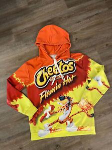 Flamin Hot Cheetos Long Sleeve Women Men 3D Print Hoodies Pullover Sweatshirts