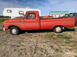 66 f100 red