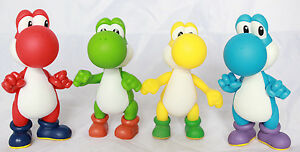 Super-Mario-Brothers-5-034-Yoshi-Action-Figure-Kids-Toys-Cake-Decoration-Toppers