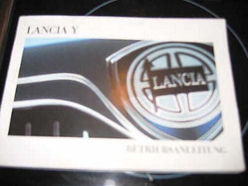 deutsche Betriebsanleitung Handbuch LANCIA Y   Ausgabe 1998