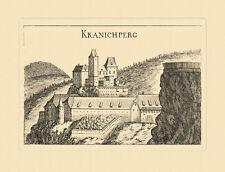 Kranichberg Kranichperg Matthäus Vischer Österreich Burgen und Schlösser 759