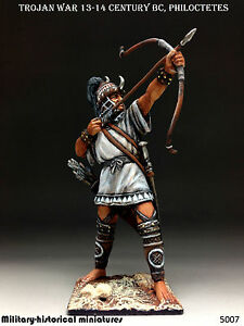 Trojan War, Philoctetes, Tin toy soldier 54 mm, figurine, sculpture HAND PAINTED
