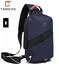 miniature 13 - PJ Tangcool men's USB port waterproof one shoulder bag multi-purpose chest bag