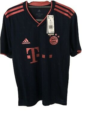 Adidas Bayern Munich Soccer Football Third Jersey Men's Large New With Tags $90