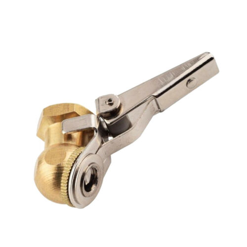 2X Messing Kugel Fuß Single Clip Lock On Reifen Luft Chuck 1//4