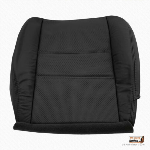 2001 2002 Driver Bottom Perforated Leather Cover For Nissan Pathfinder Black