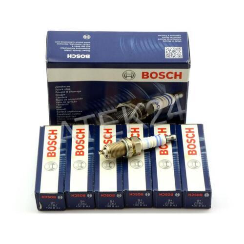set 6x bujía Bosch original 0242229659 fr8dc