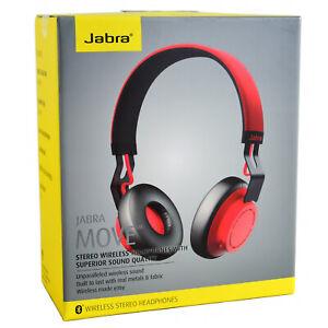 Genuine Jabra Move Wireless Stereo Bluetooth On Ear Headphones Headset Handsfree Ebay
