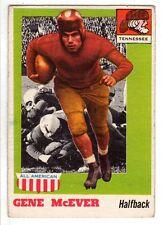 1955 Topps All-American Football Card #74 Gene McEver Tennessee Volunteers EX