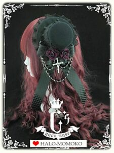 Handmade-Lolita-Gothic-Headdress-Victorian-Cosplay-Punk-Rockabilly-Princess