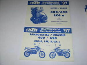 2 PARTS LIST CATALOGUE TECHNIQUE KTM 400 - 620 LC4 E 97 fLXUKKu2-07135750-250943677