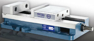 """Toolmex Workholding Mill Vise Jaws 8/"""" Opening 10/""""  10 YEAR WARRANTY"""