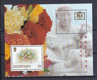 Freundschaftlich Guernsey1994 Postfrisch Minr Europa Block 12 Philakorea '94 In Seoul