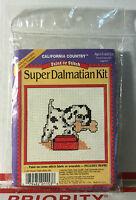 California Country 1150 Cross Stitch Paint Or Stitch Super Dalmatian Kit --