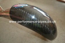 PRO CARBON Fibre Exhaust Guard HGS RACING PIPE KTM SX125 SX144 SX150  2004-2015