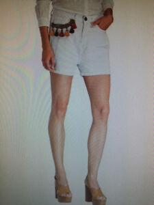 Damen 38 Mode 99 Kleidung Rinascimento Neu 89 Jeans Np Shorts Eur Größe M Weiß S1xw5wq