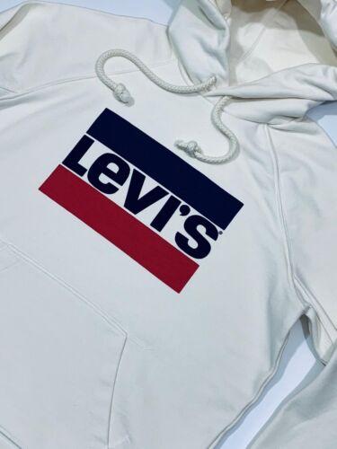 Levi's Women's Graphic Sport Hoodie White
