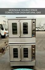 Montague Double Stack Convection Oven Natural Gas