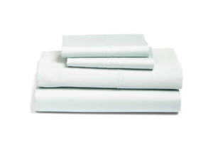 Nordstrom At Home bluee Pastel 400 Thread Count Queen Sheet Set 4611