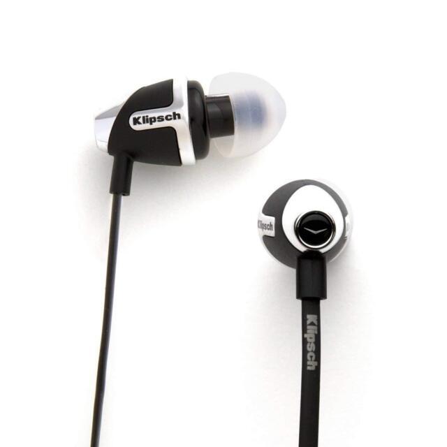 Klipsch Image S4 -II Black In-Ear Headphones  Improved Jack