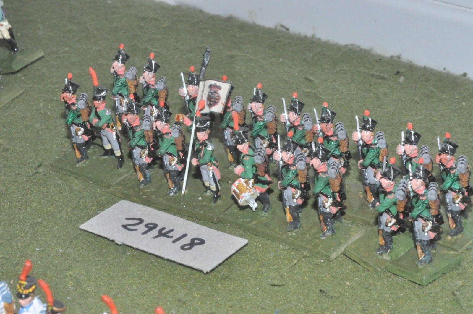 25 25 25 mm napoléoniennes Saxon-light 20 figures-INF (29418) e01ba1
