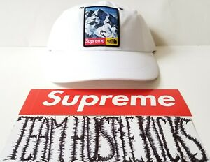 c65418ca Supreme x The North Face TNF Mountain 6 Panel Hat Cap ( WHITE ) New ...