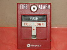 SIMPLEX 2099-9756 FIRE ALARM PULL STATION ASSY (12 AVAILABLE)