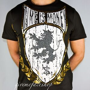 Image is loading Time-is-Money-rasta-lion-t-shirt-supreme- f701968a595b