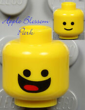 NEW Lego BENNY MINIFIG HEAD - Blue Movie Space Man w/Classic Smile 70810 70816