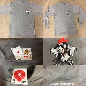 POWELL-PERALTA-VINTAGE-NOS-RAY-BARBEE-RAGDOLL-LONG-SLEEVE-SHIRT-SIZE-S-CLIVER