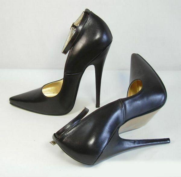Femme Sexy Stilettos Talon Haut Bride Cheville Escarpins compensés à bout pointu chaussures Grande Taille UK