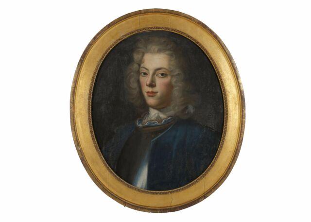 17thC Swedish School Antique Oil Portrait of Gustaf Bond Klasson - After Dahl