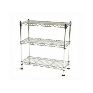 wire cabinet shelf shelf cabinet organizer rack storage tier kitchen counter 29323
