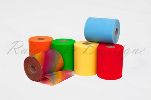 "Tutu Tulle Rolls 6/"" x 100 yards Rainbow Polyester or Sequin Netting Craft Fabric"
