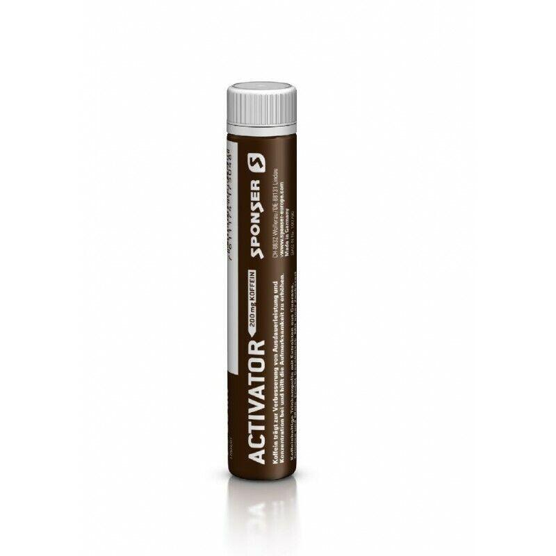 Sponser Activator 200 caffeina booster contenuto  30 pz