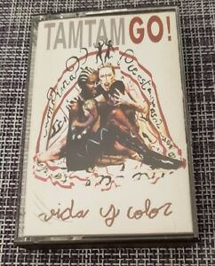 TAM-TAM-GO-VIDA-Y-COLOR-CASSETTE-MC-K7-TAPE-CINTA-12-TRACKS-MUY-BUEN-ESTADO