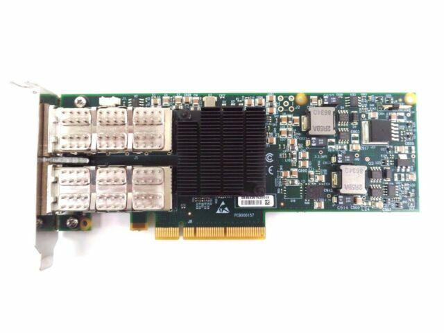 Mellanox MHQH29B-XTR ConnectX-2 VPI Dual QSFP PCIe Card *USED*